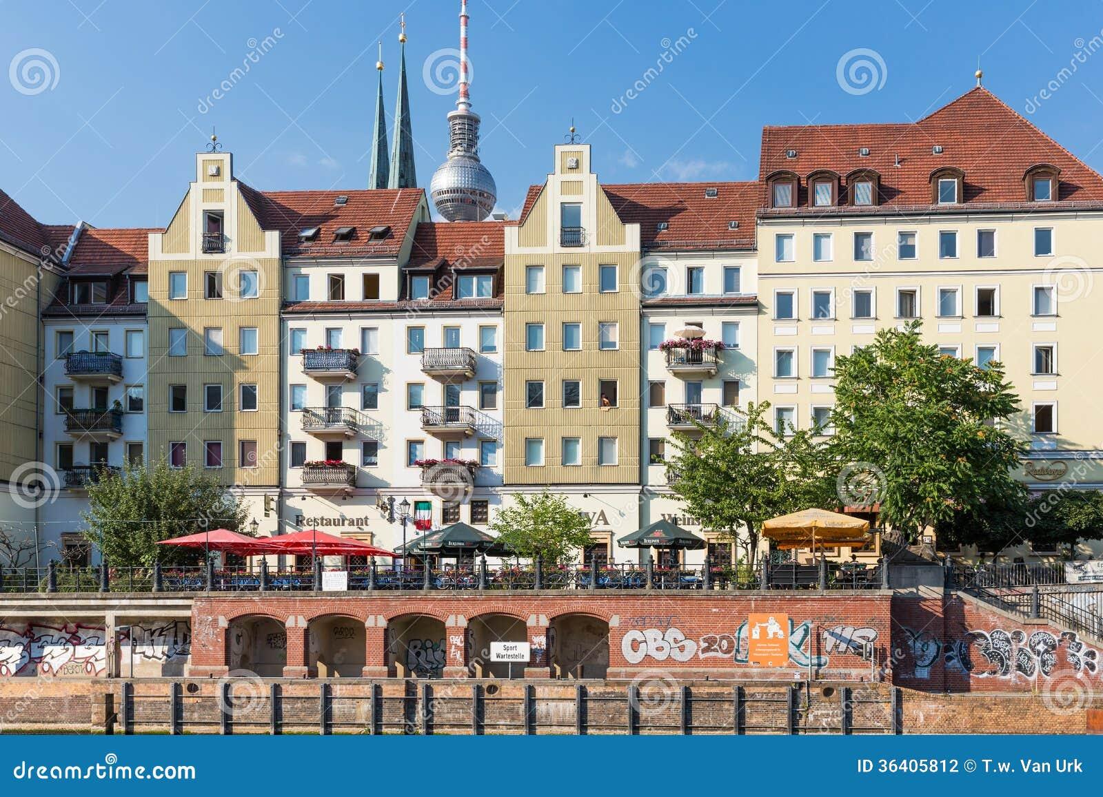 Berlin Deutschland 25 Juli Stadtbild Berlin Mit Den