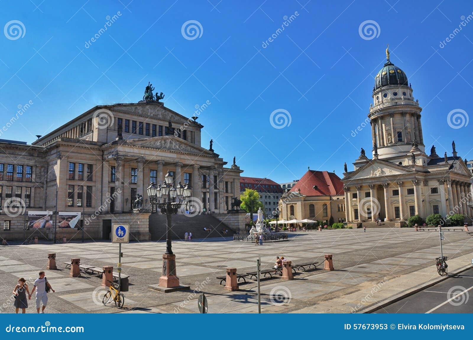 Berlin gendarmenmarkt