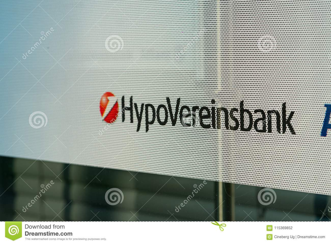 Hypovereinsbank Bank Branch Editorial Photography - Image of german