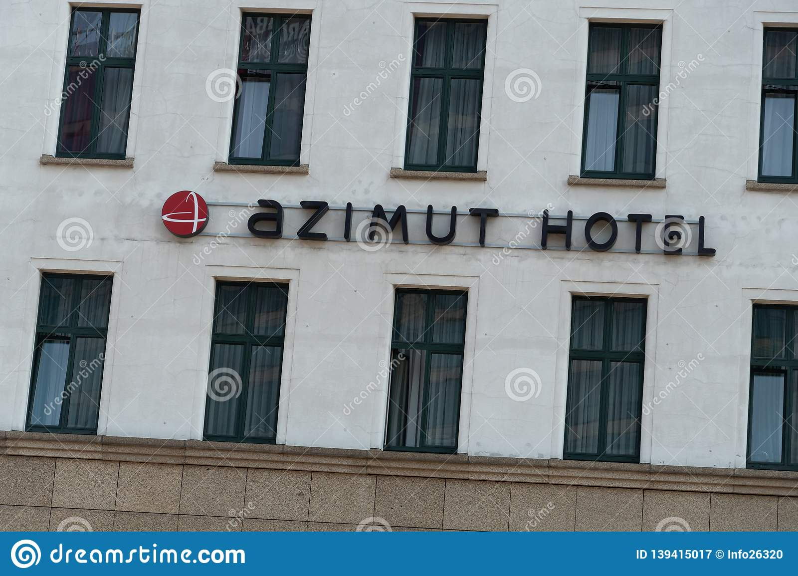 Azimut Hotel Kurfuerstendamm Berlin Editorial Photography Image Of