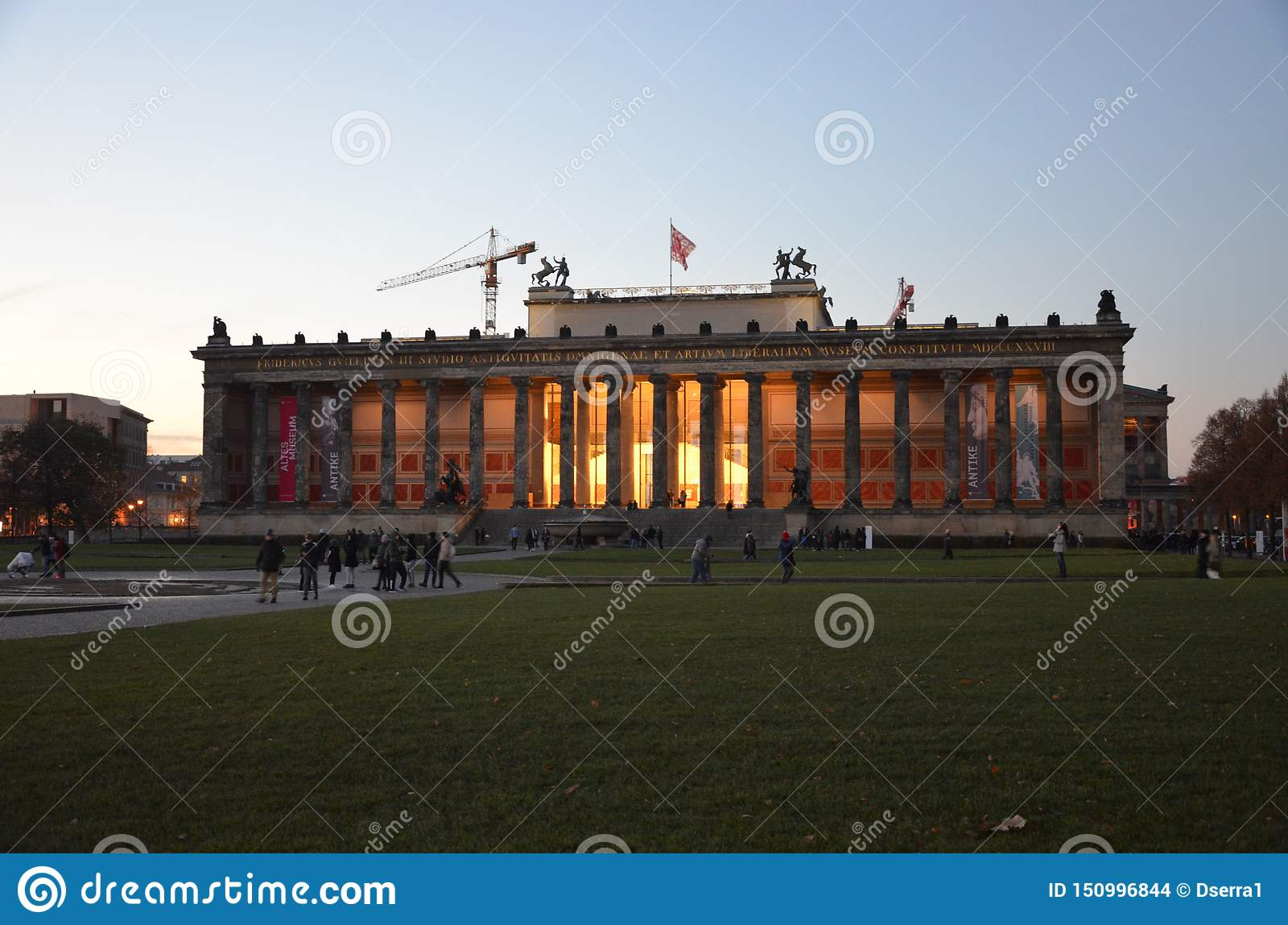 Berlin, Germany - the Altes Museum in Berlin