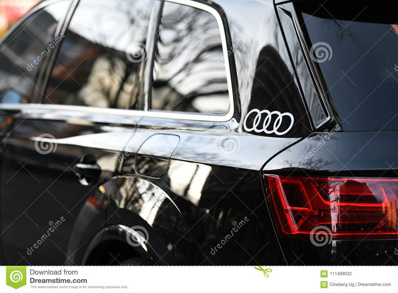 Audi Car Editorial Photography Image Of Emblem Name - Audi car emblem