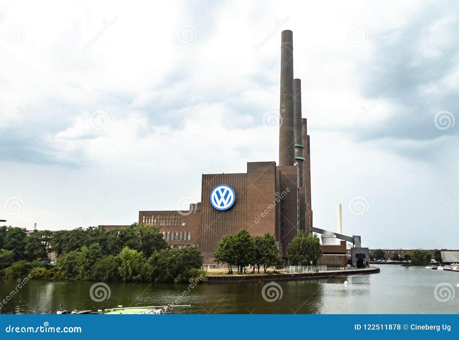 Wolfsburg Volkswagen Plant Outdoors Editorial Stock Photo