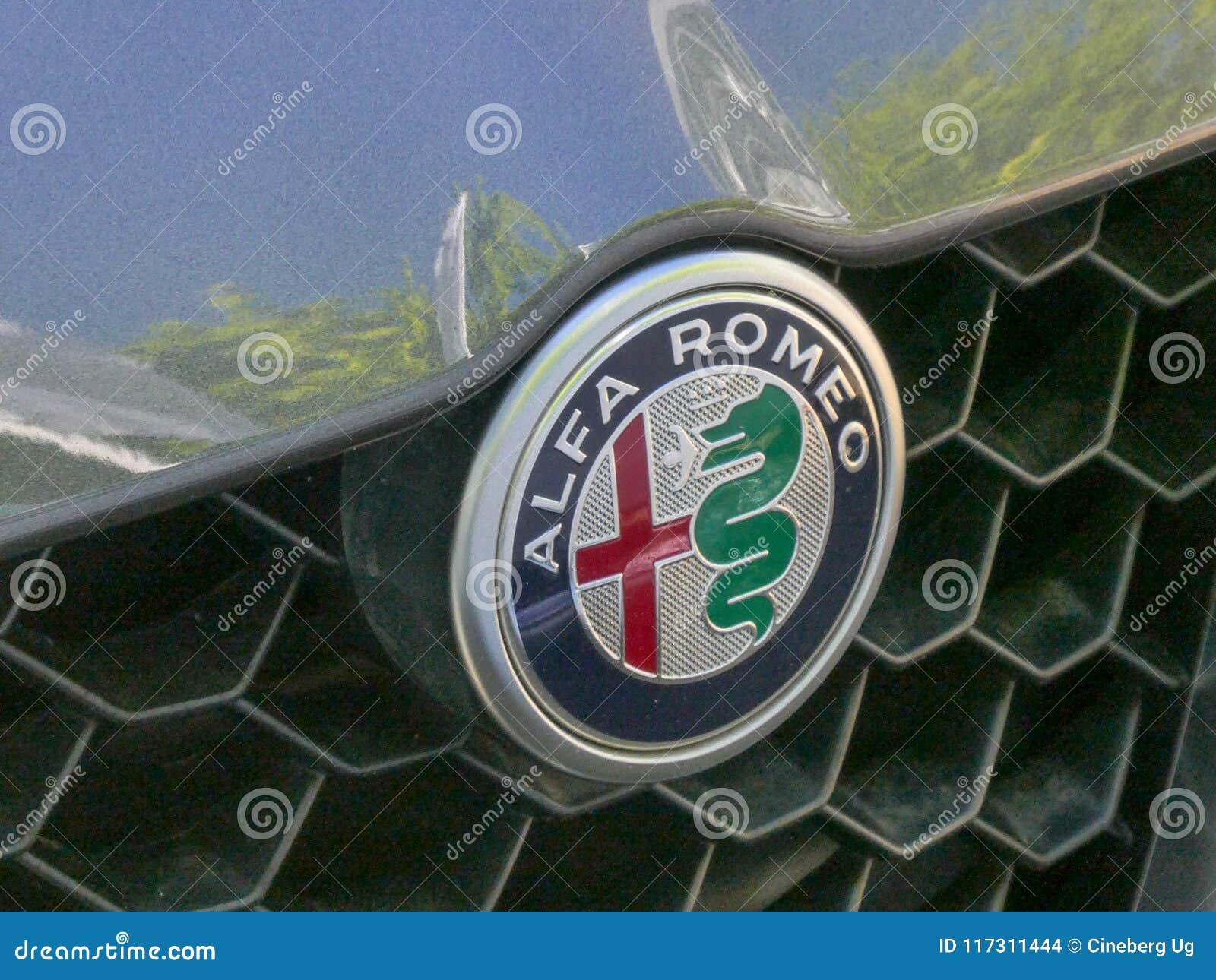 Alfa Romeo Car Emblem Editorial Stock Image Image Of Logo 117311444