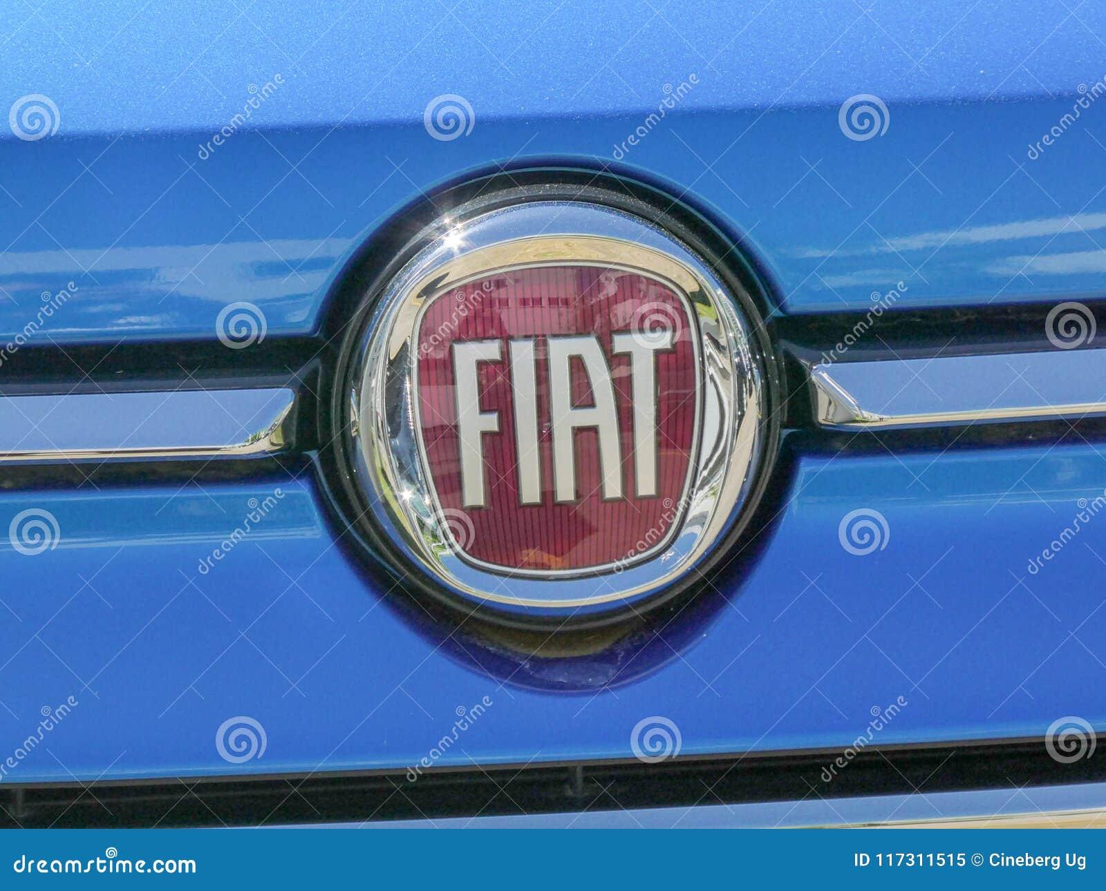 Fiat Car Emblem Editorial Image Image Of Fiat Logos 117311515