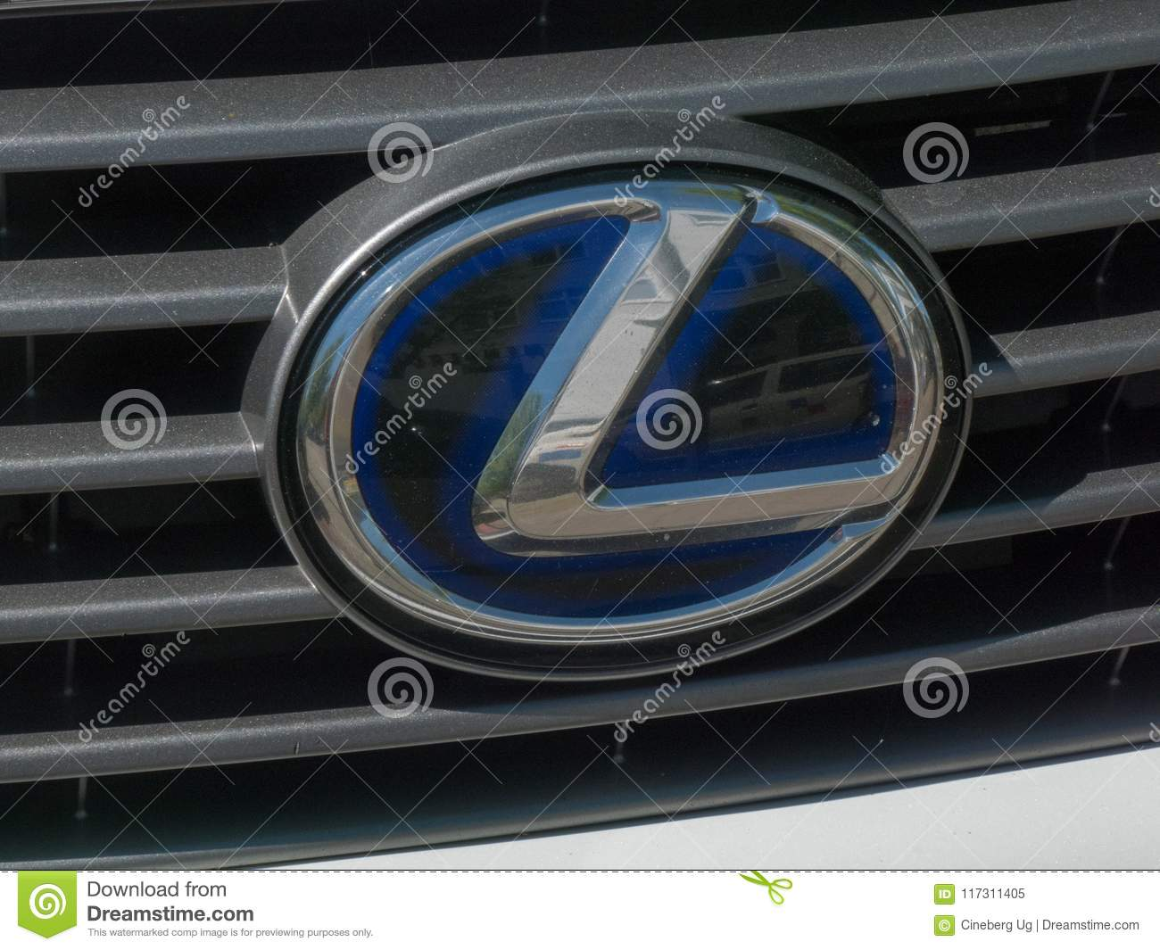 Lexus Car Sign Editorial Image Image Of Label Motor 117311405