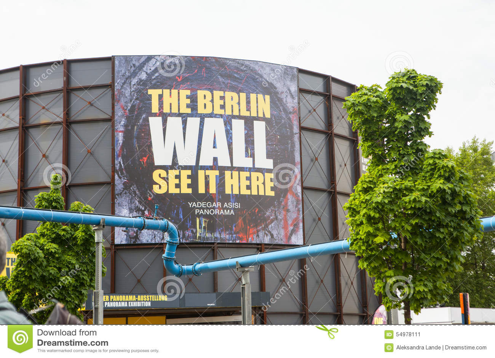 Berlin Germany - punkt kontrolny