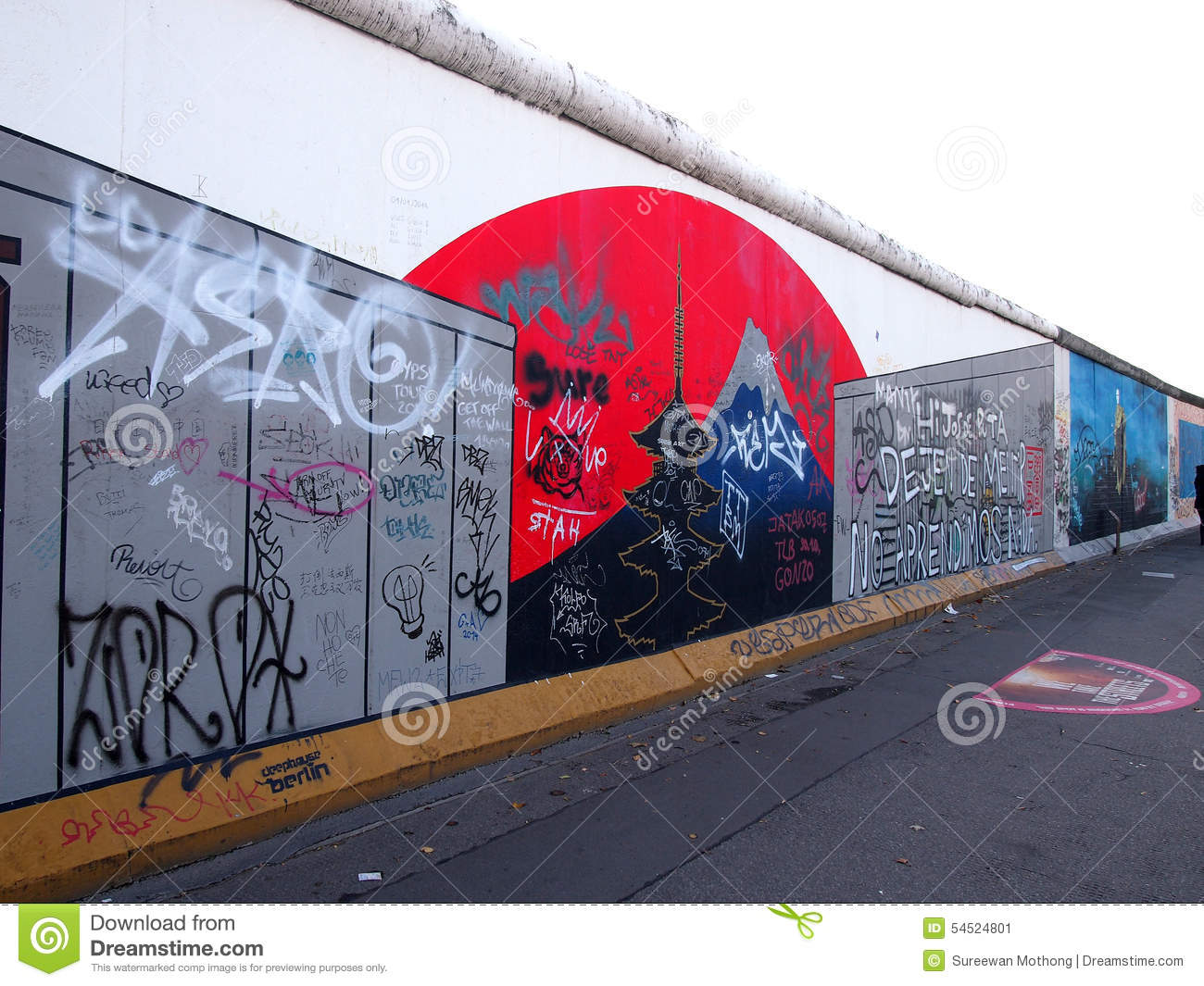 political and emotional division of germany in symbolism of the berlin wall He berlin wall — symbol of a divided city within a divided nation within a divided continent — was grounded in decades-old historical divisions most proximately, nazi germany could only be.