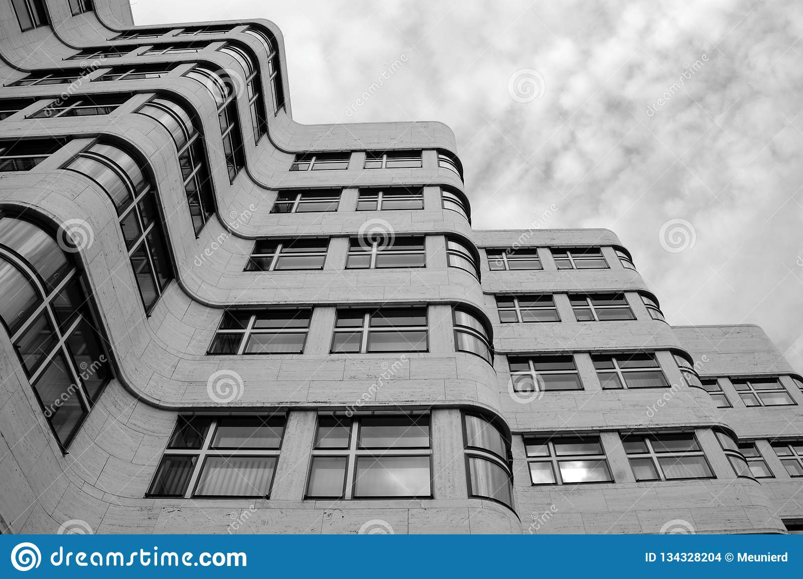 Staatliches Bauhaus Building Editorial Stock Image - Image of