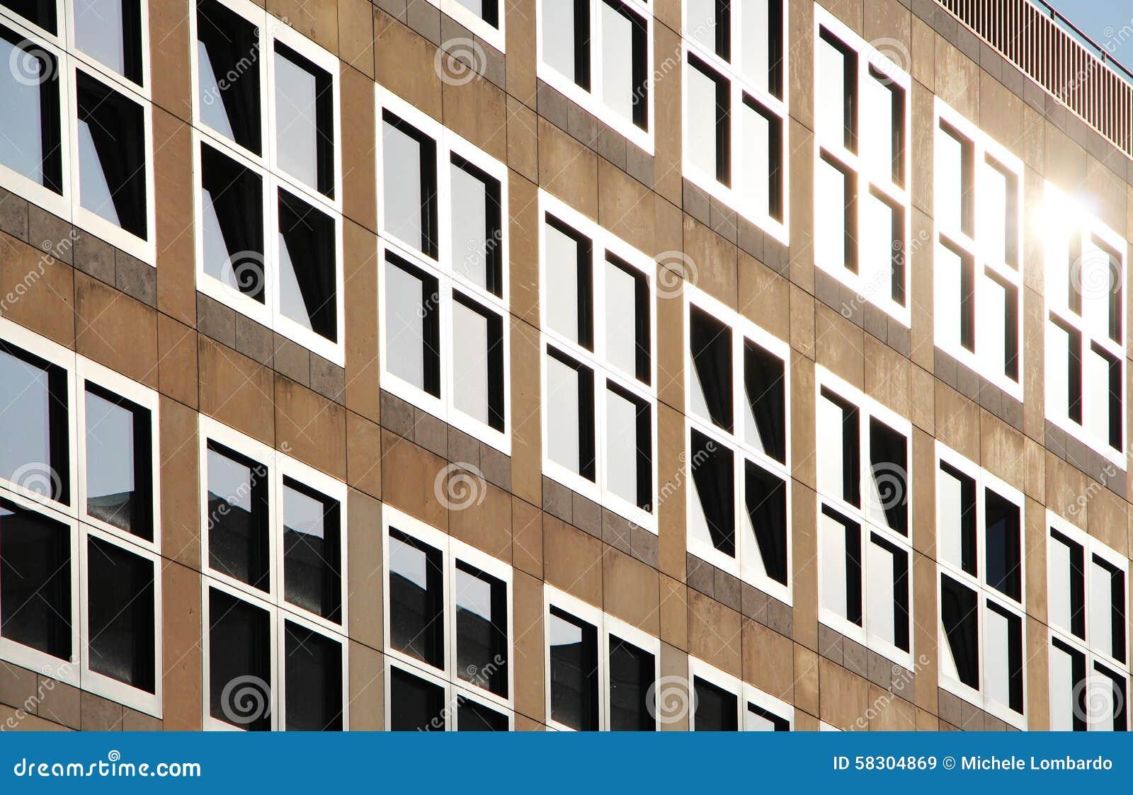 Berlin Moderne Architektur Das Q Ungers Stockbild Bild Von
