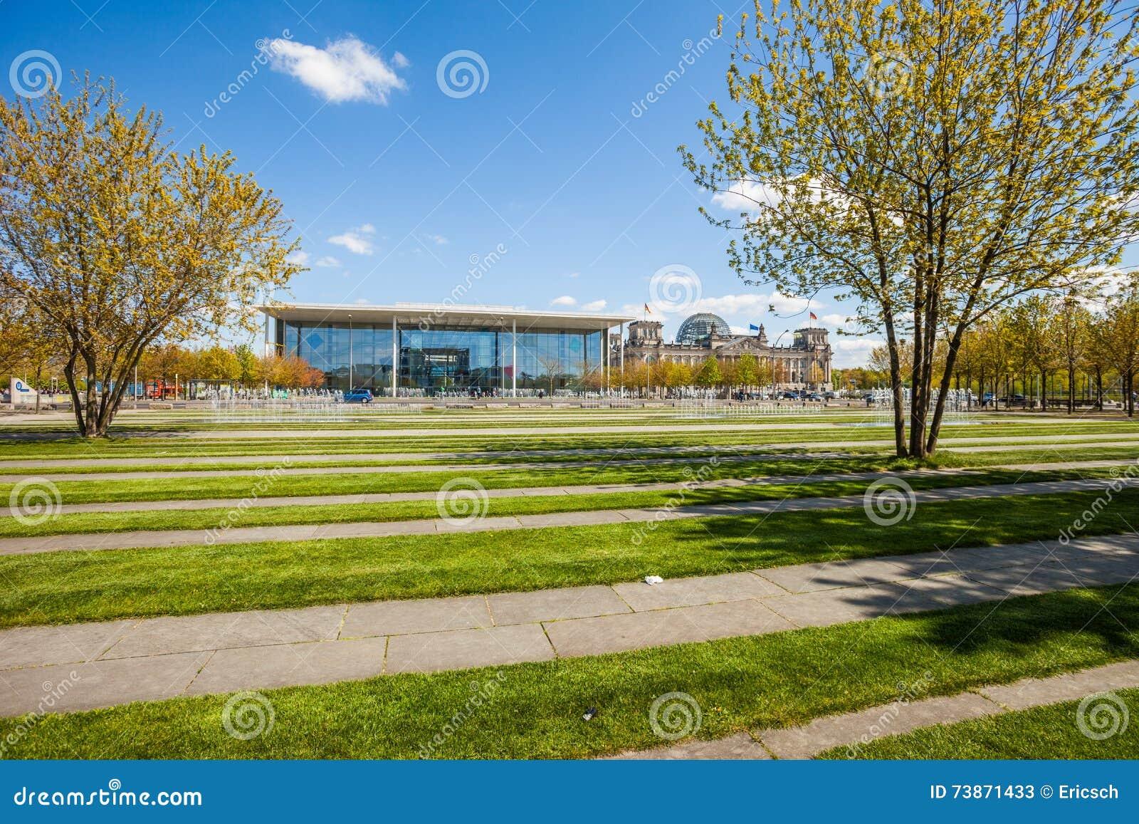 Berlin Reichstag, Paul Loebe Haus