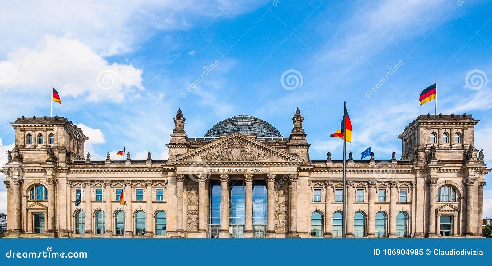 Berlin reichstagu