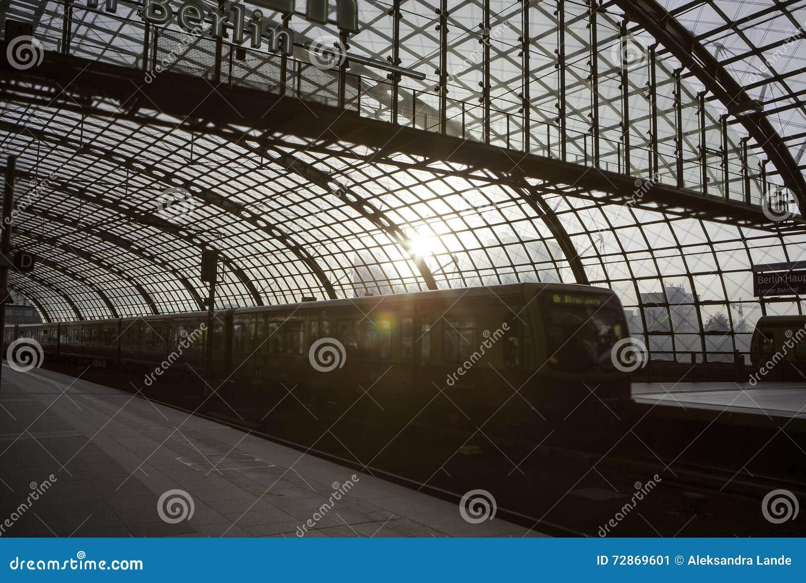 Berlin taborowa główna stacja