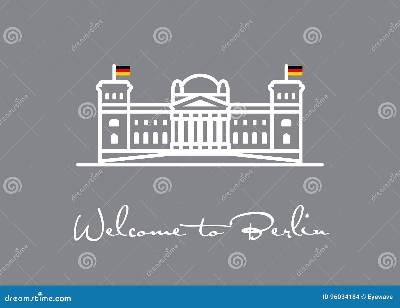 Berlin target2300_0_ Reichstag ikony kartka z pozdrowieniami