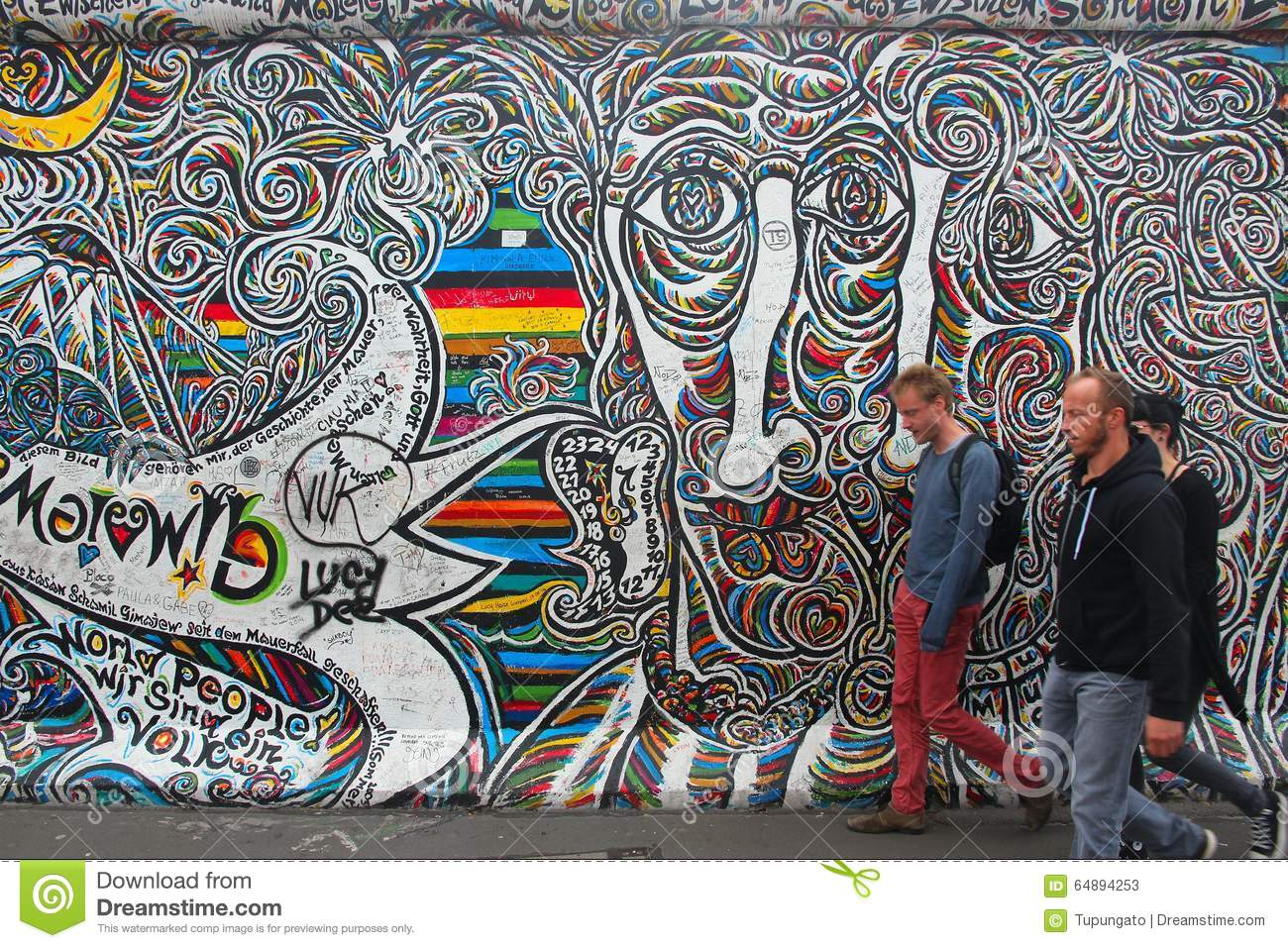 Nice Berlin Wall Art