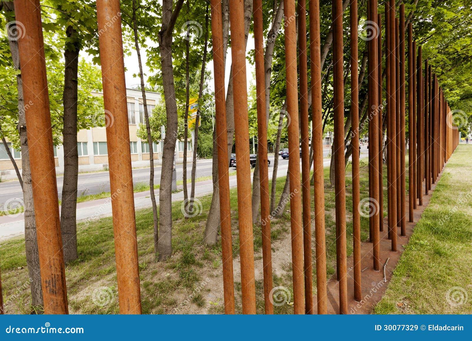 Berlin Wall Memorial Marking