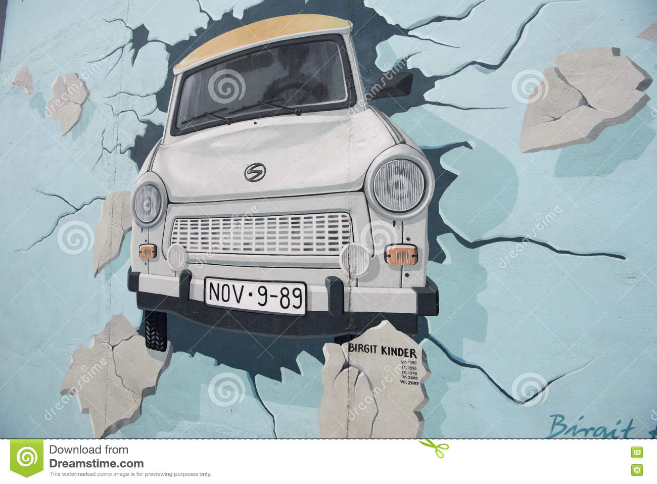 Berlin Wall Painting