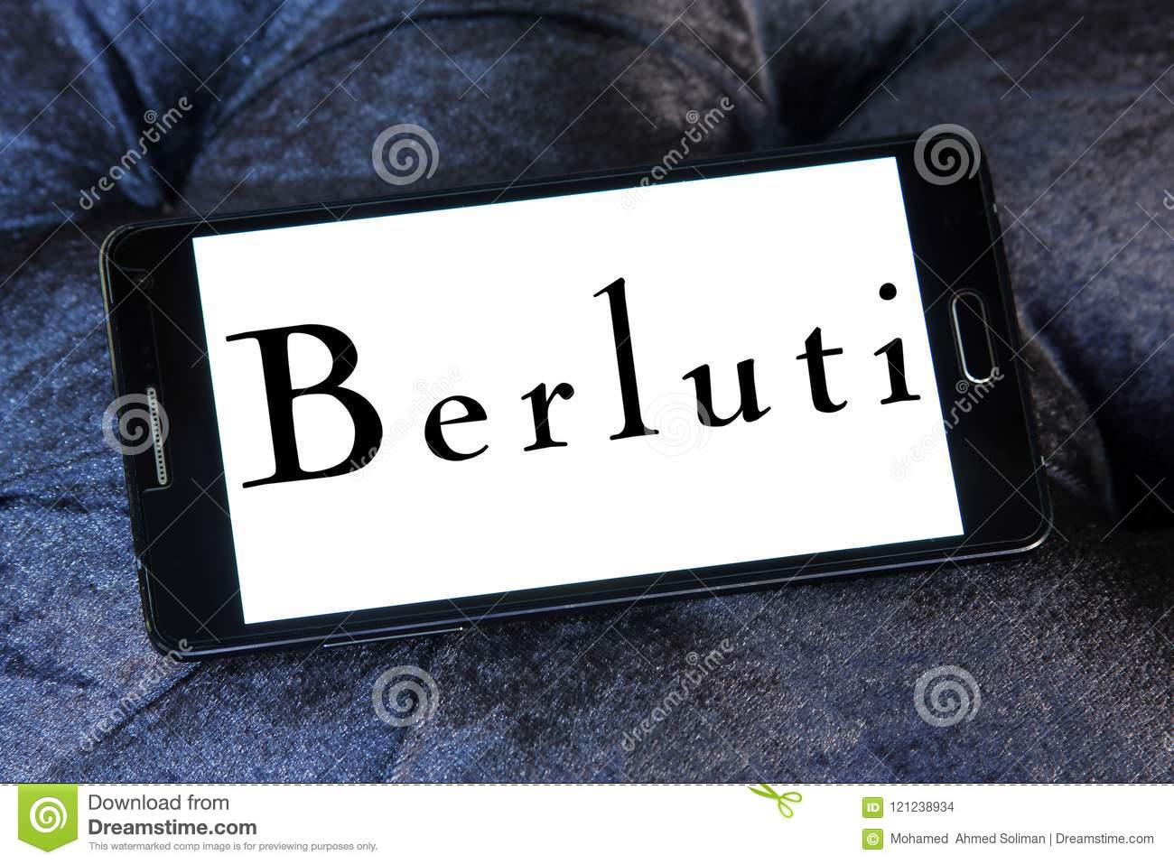 Berluti Clothing Brand Logo Editorial Stock Image Image Of Luxury