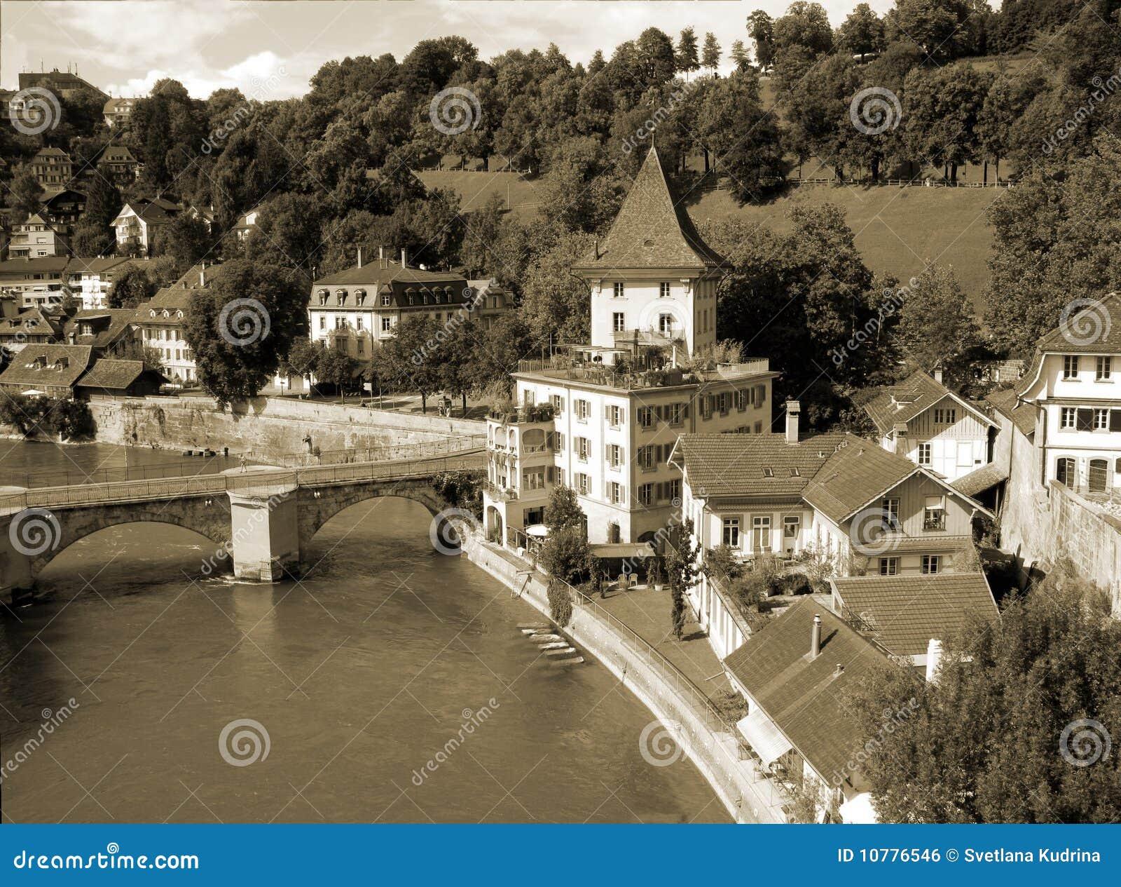 Bern, de hoofdstad van Zwitserland