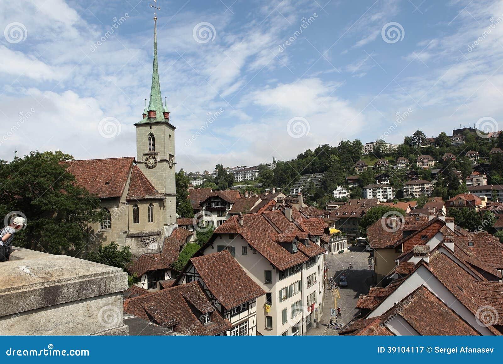 Bern.Vid de oude stad.