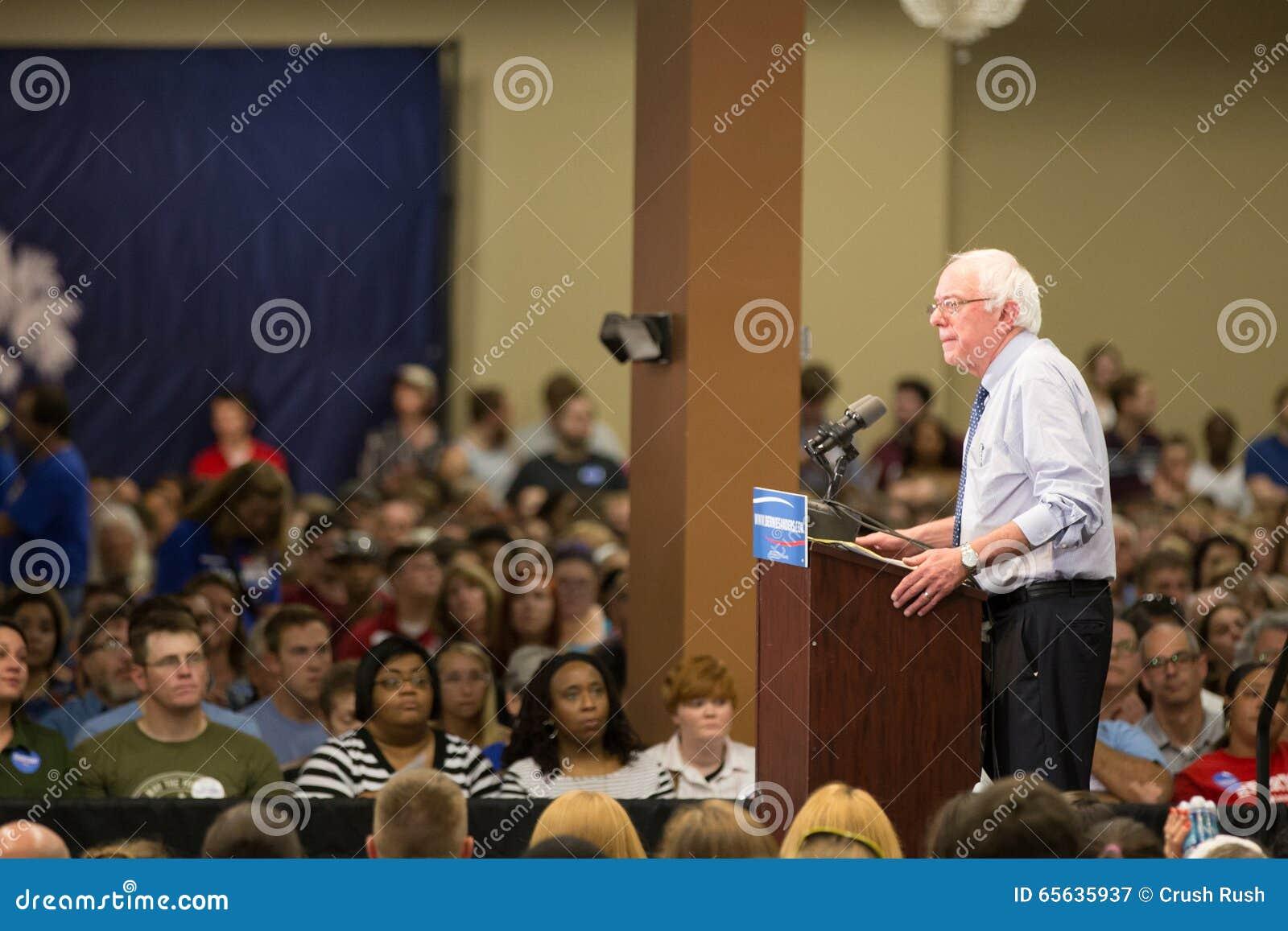 Bernie Sanders - centre de médaillon