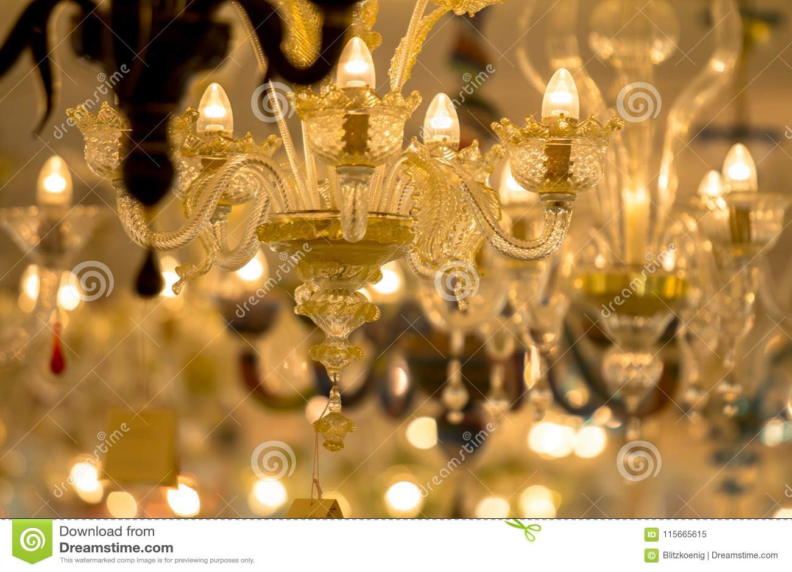 Beroemd Murano-glas in Venetië