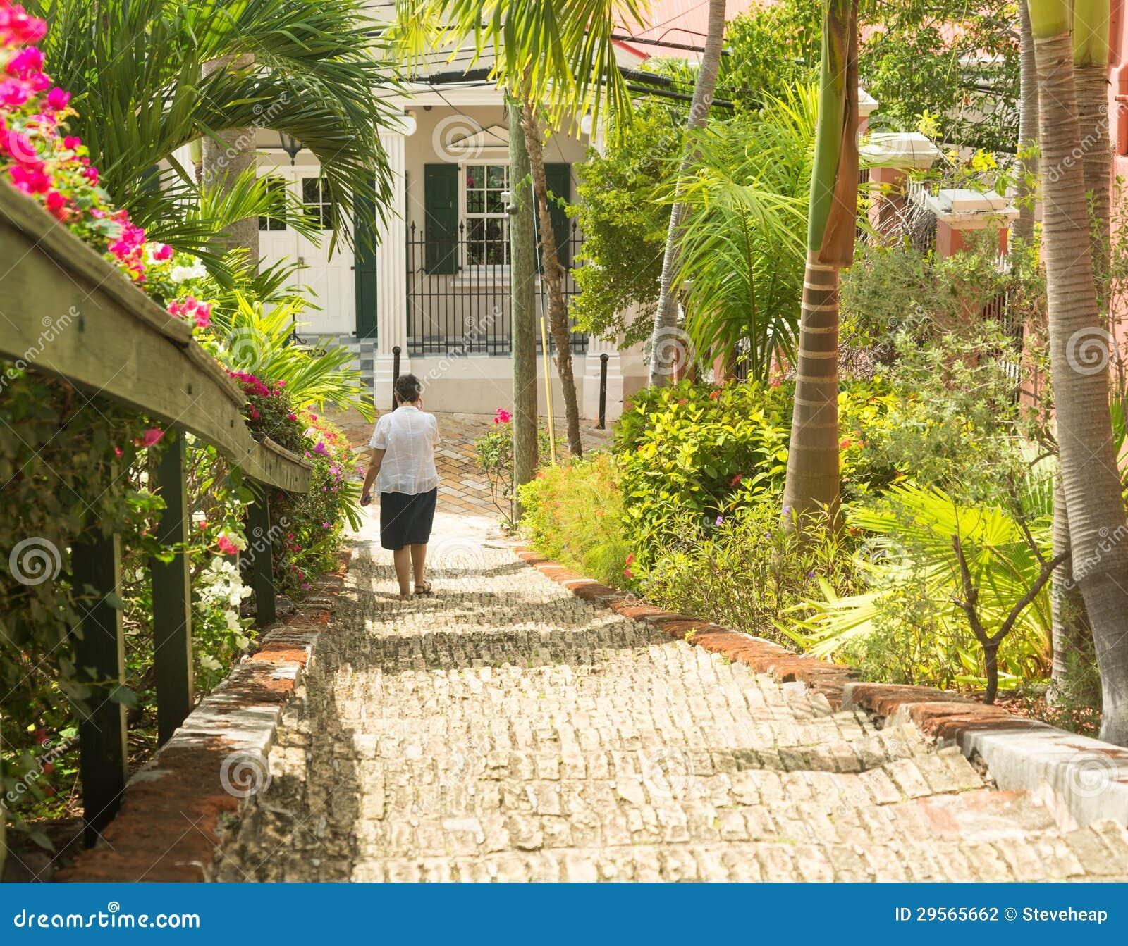 Beroemde 99 stappen Charlotte Amalie
