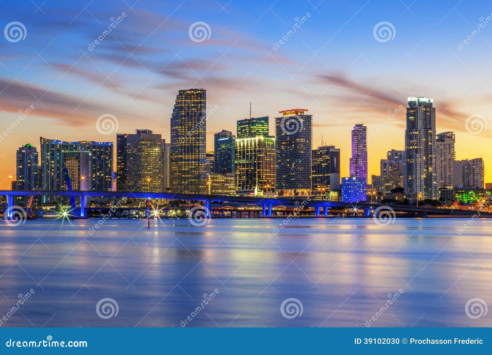 Beroemde stad van Miami