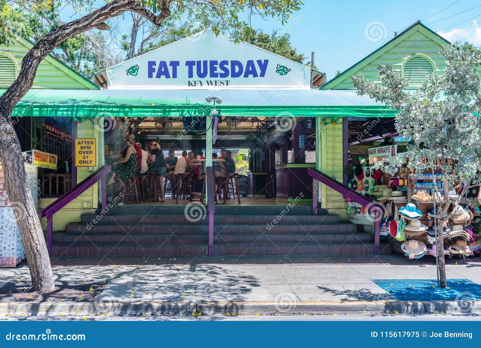 Beroemde Vette Dinsdagbar in Key West