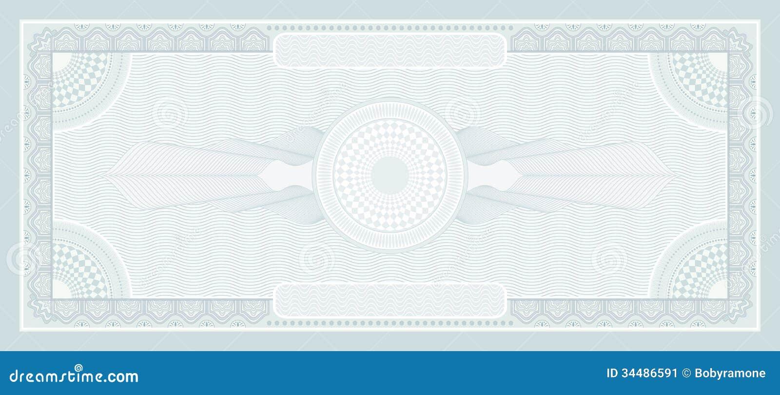 Money border template
