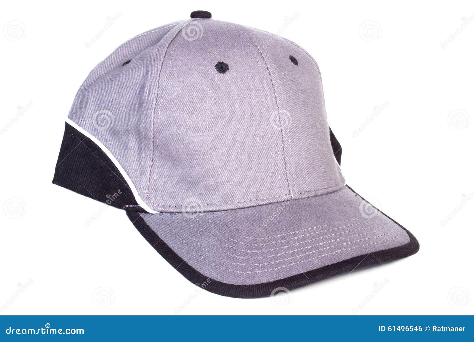 Primo piano del berretto da baseball isolato su fondo bianco 8b71d65834ca