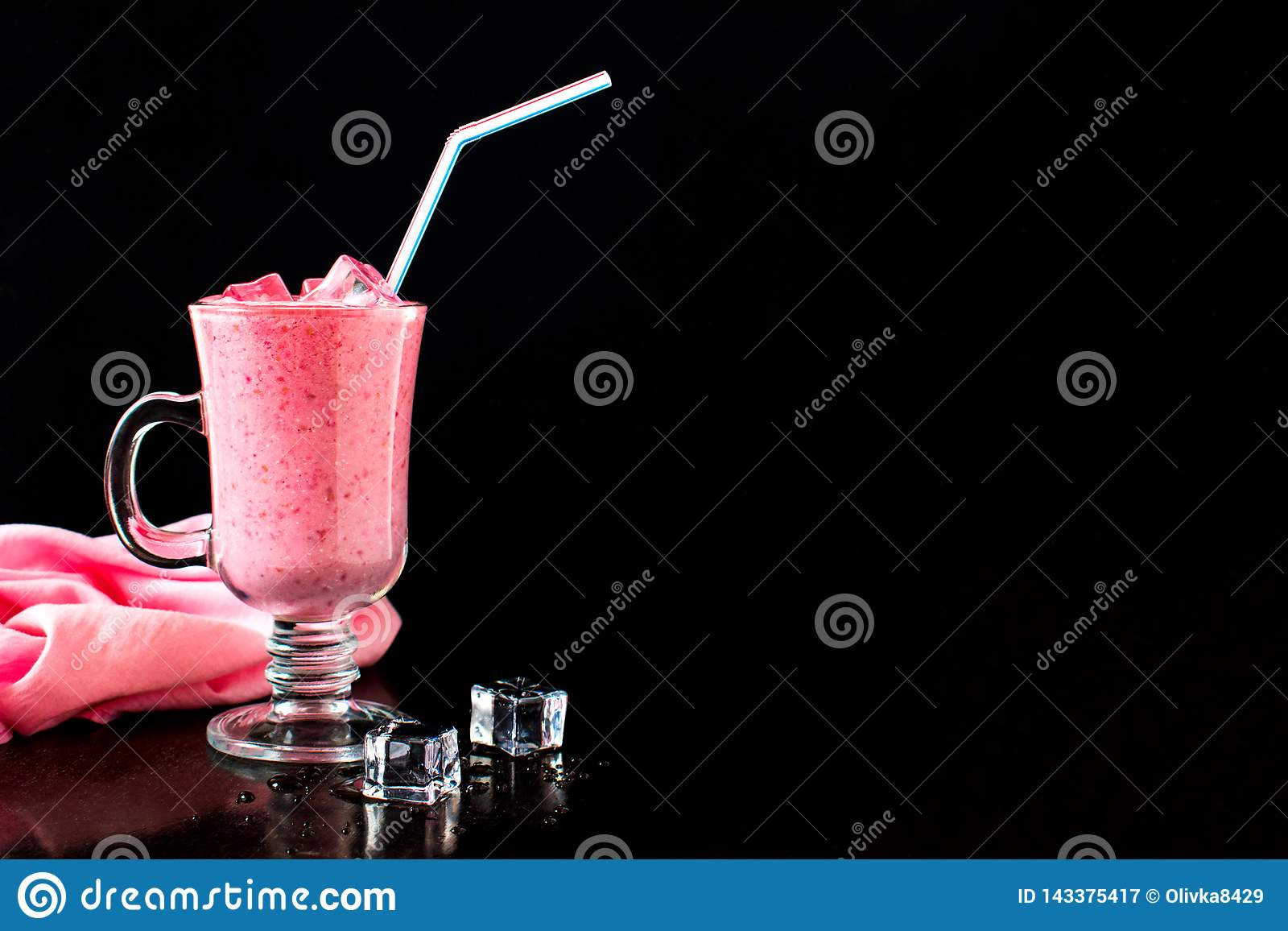 Berry Cocktail, Milch Smoothie