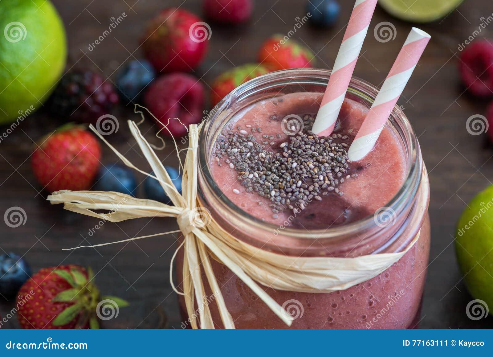 Berry Fruit Smoothie frais