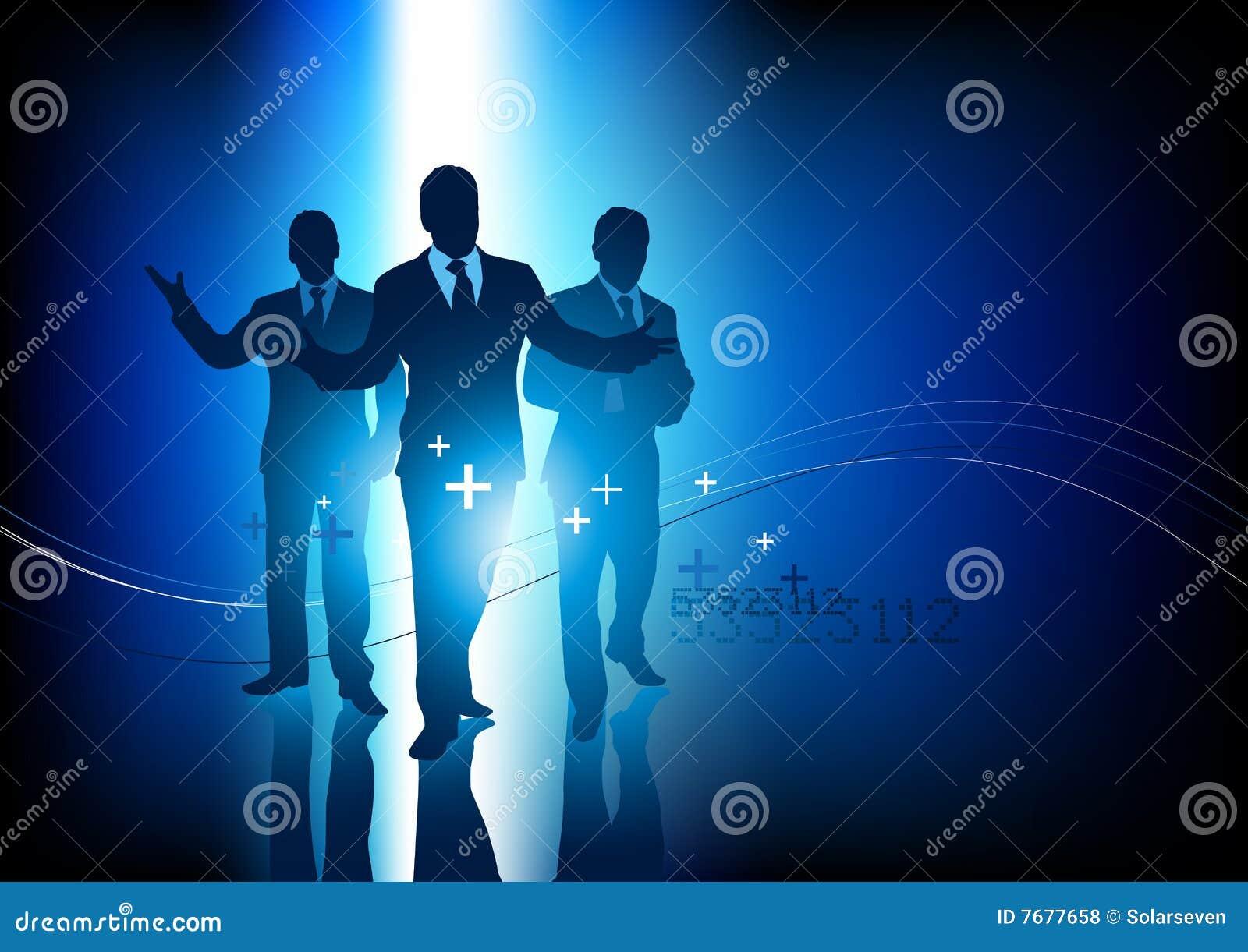 Berufsgeschäfts-Team