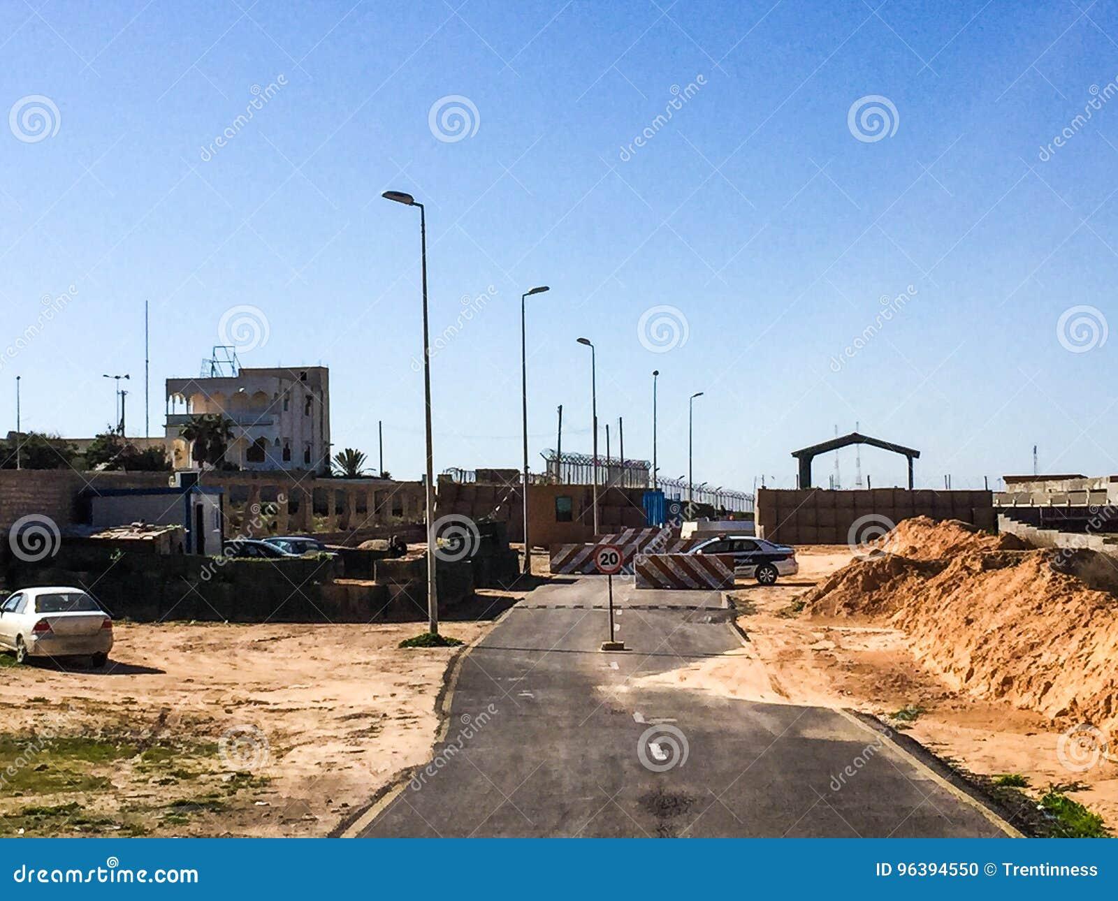 Besök till Tripoli i Libyen i 2016