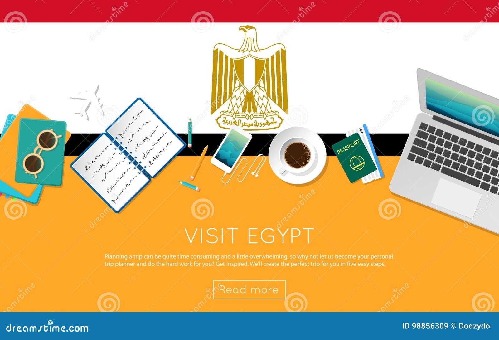 Besöka det Egypten begreppet för ditt rengöringsdukbaner eller skriv ut