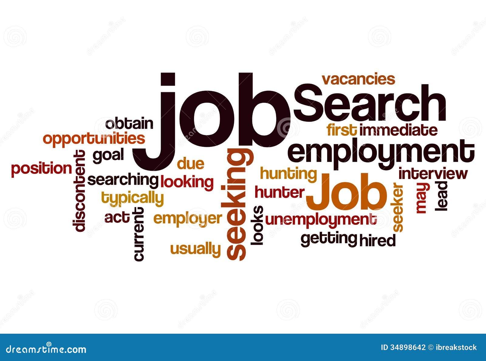 Beschäftigungs-Konzepthintergrund der Jobsuche suchender