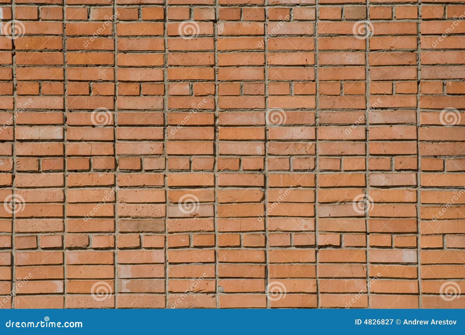 Beschaffenheit der alten Backsteinmauer