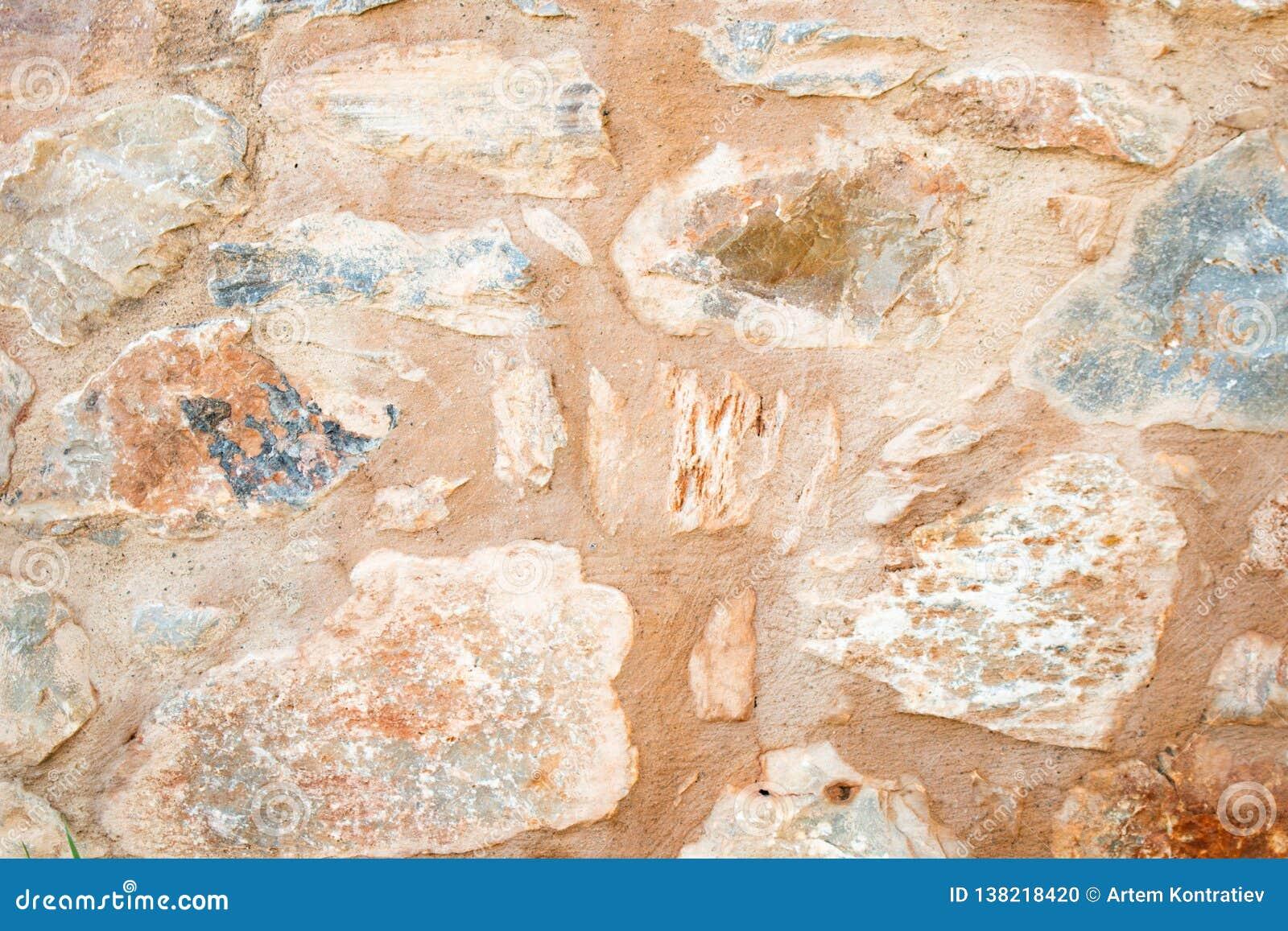 Beschaffenheit einer Steinwand Alter Schlosssteinwand-Beschaffenheitshintergrund Stein- und Wandbeschaffenheit Briks