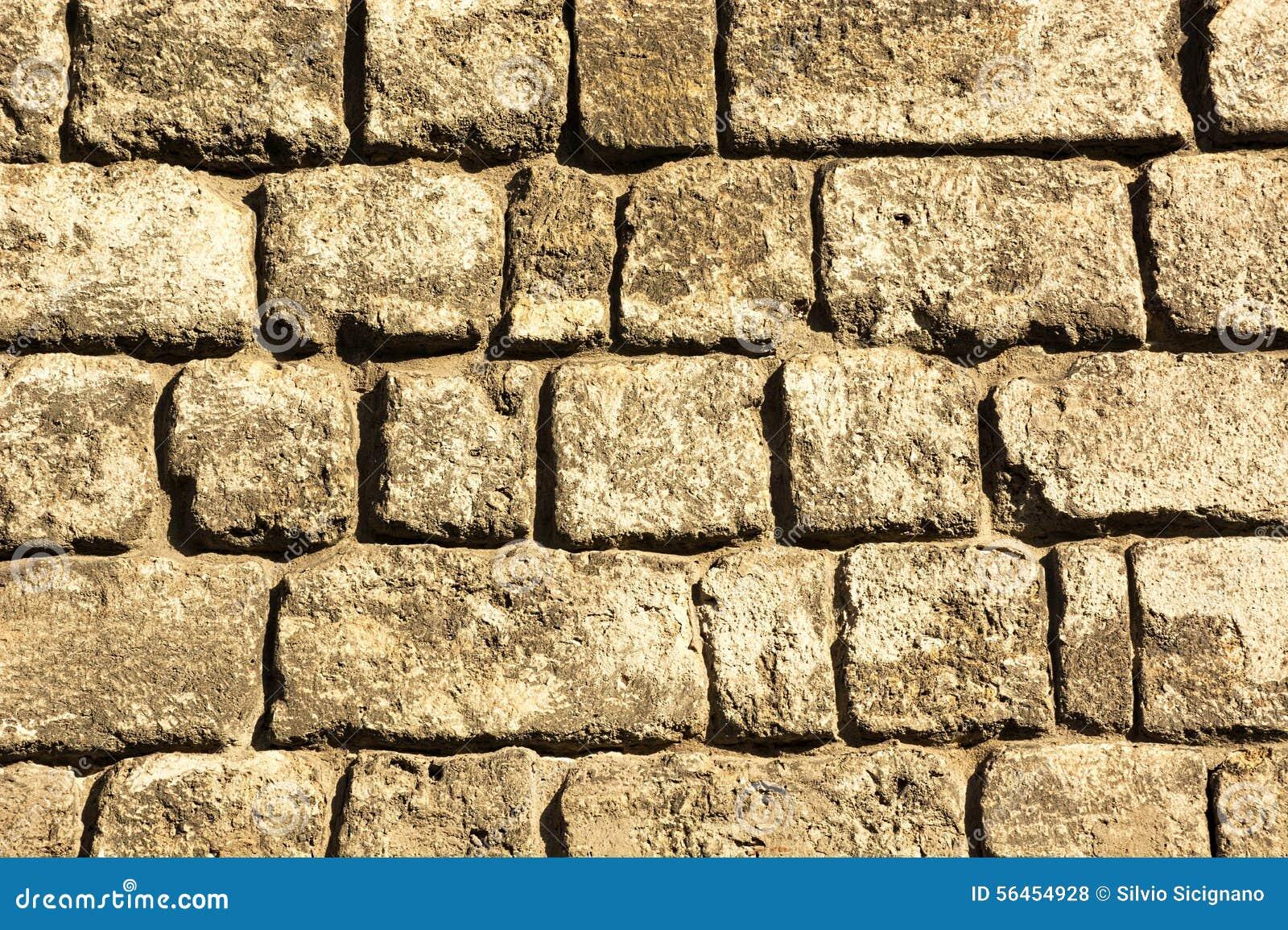 Beschaffenheit Muster Wand Stein Quadriert Stockfoto Bild Von