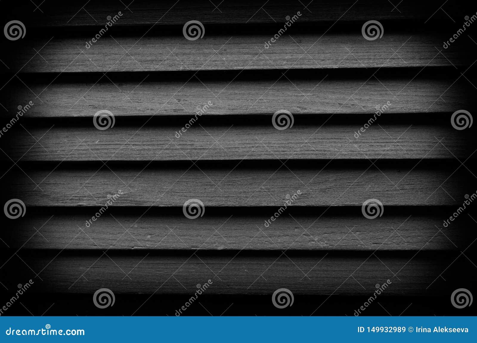 Beschaffenheit von hölzernen Vorhängen mit Vignettierung Großer Hintergrund für irgendeinen Gebrauch Schwarzweiss-Foto Pekings, C