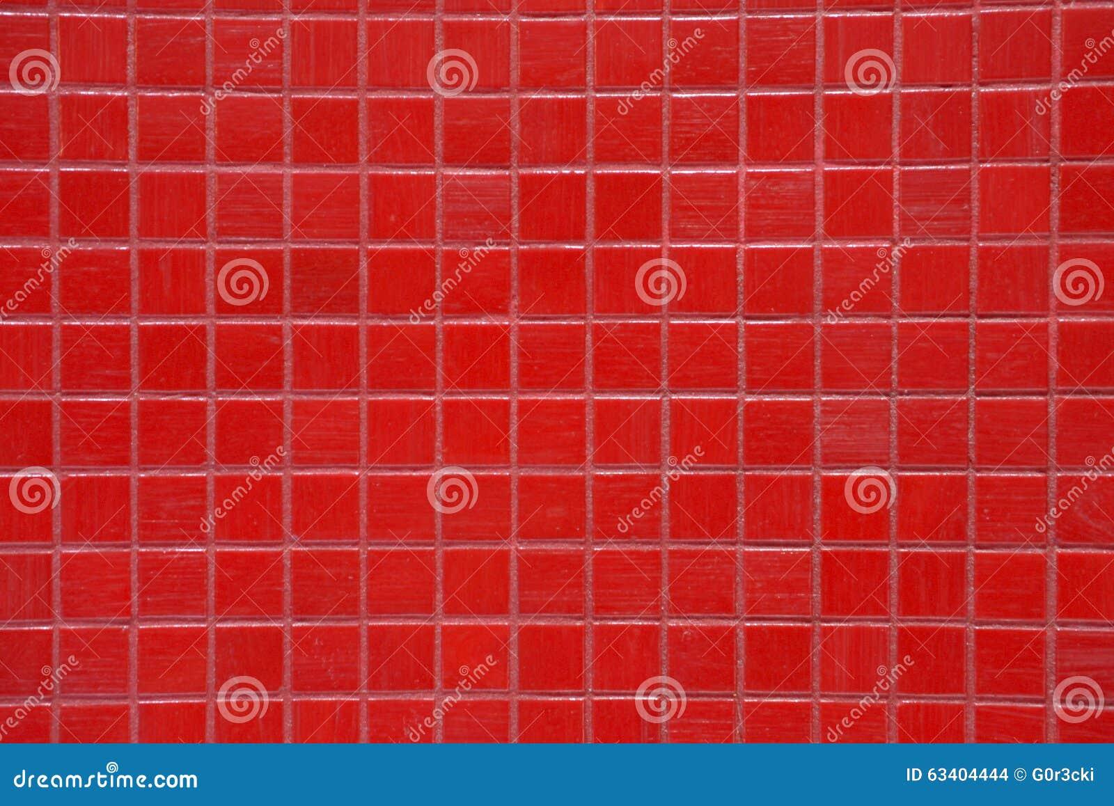 Beschaffenheiten - Badezimmer-glänzende Rote Fliesen, Bunt ...