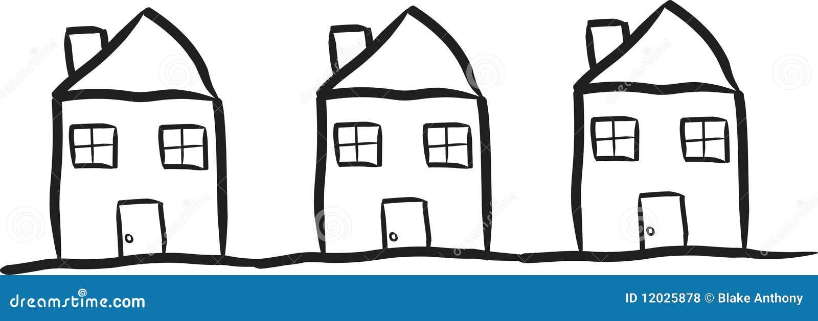 bescheidene h user lizenzfreie stockfotos bild 12025878. Black Bedroom Furniture Sets. Home Design Ideas