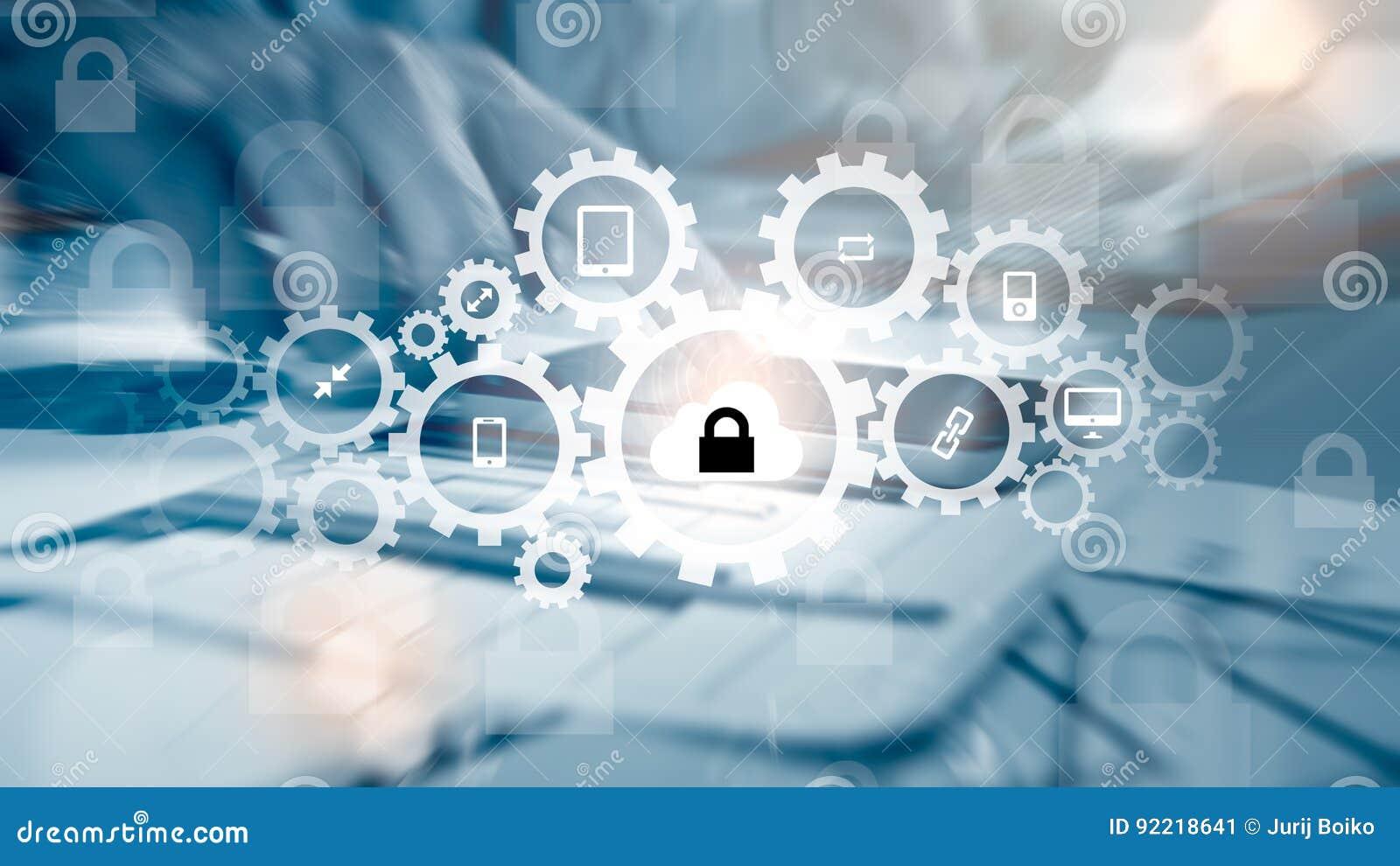 Bescherm de gegevensconcept van de wolkeninformatie Veiligheid en veiligheid van wolkengegevens
