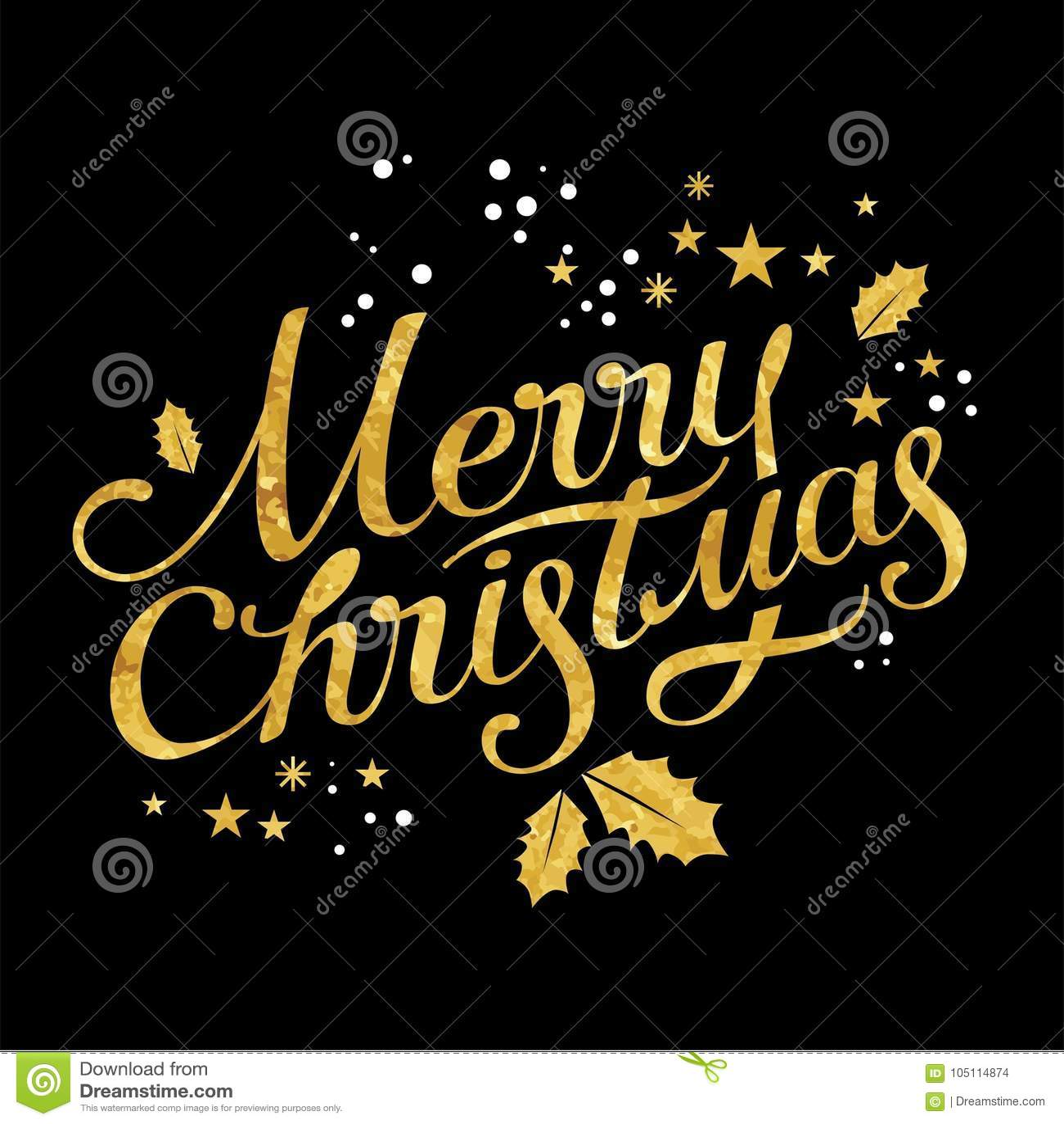 Beschriftung der frohen Weihnachten
