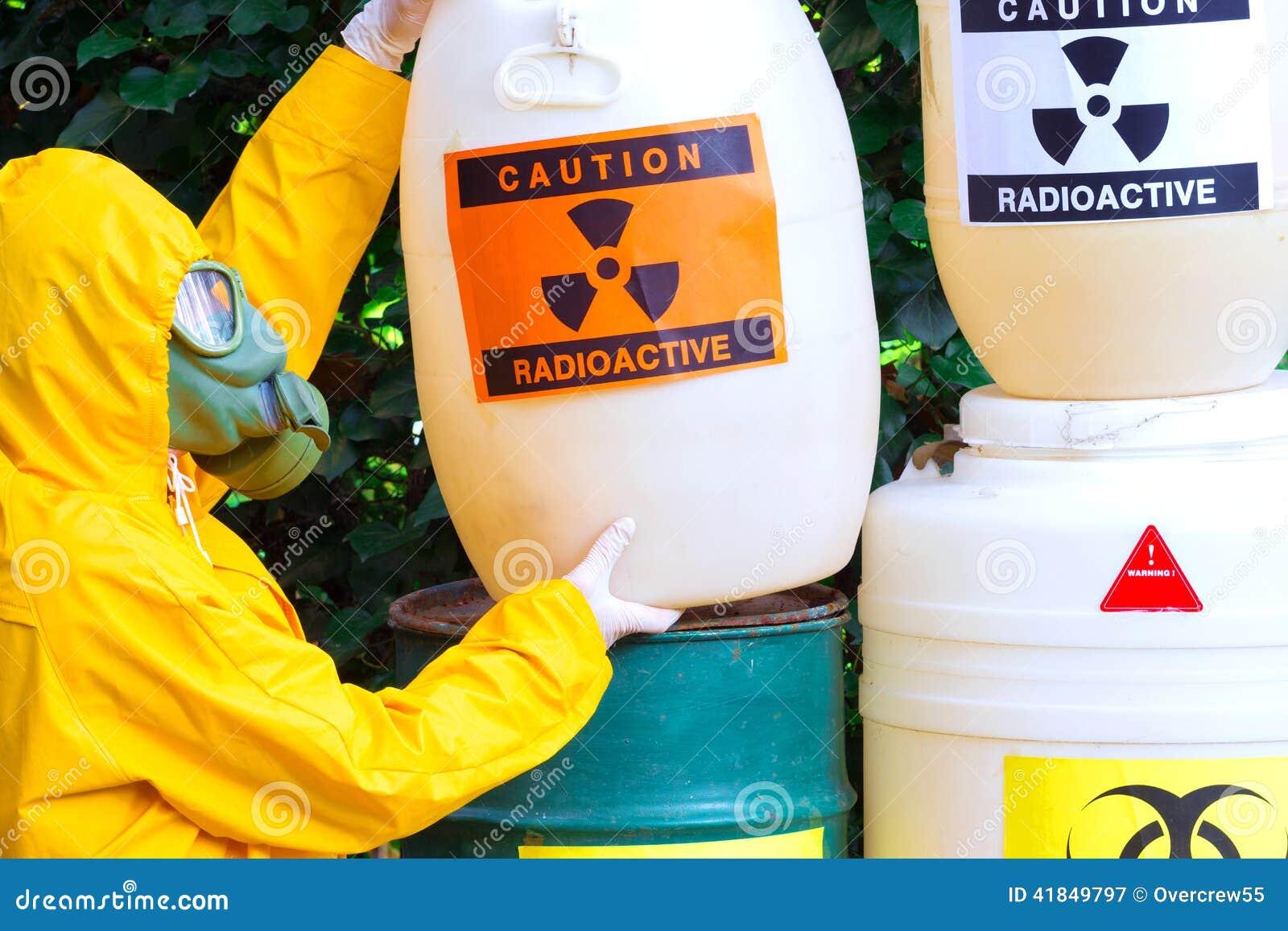 Beseitigung von Radioactiveabfall