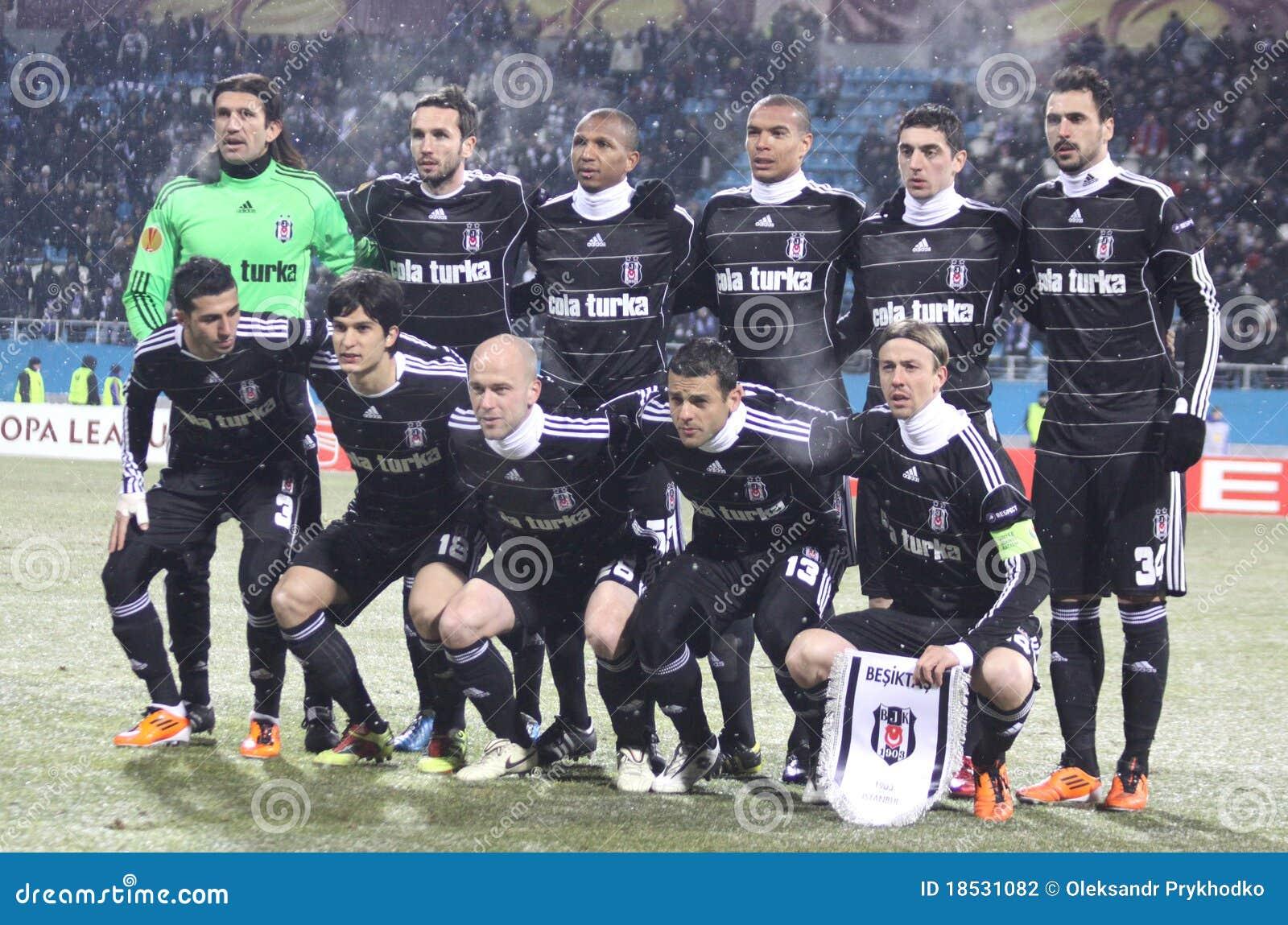 Besiktas Istanbul drużyna