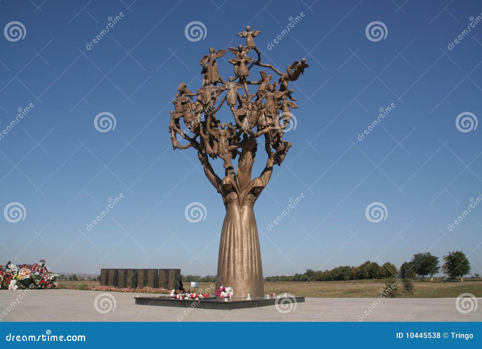 Beslan, arbre de la douleur