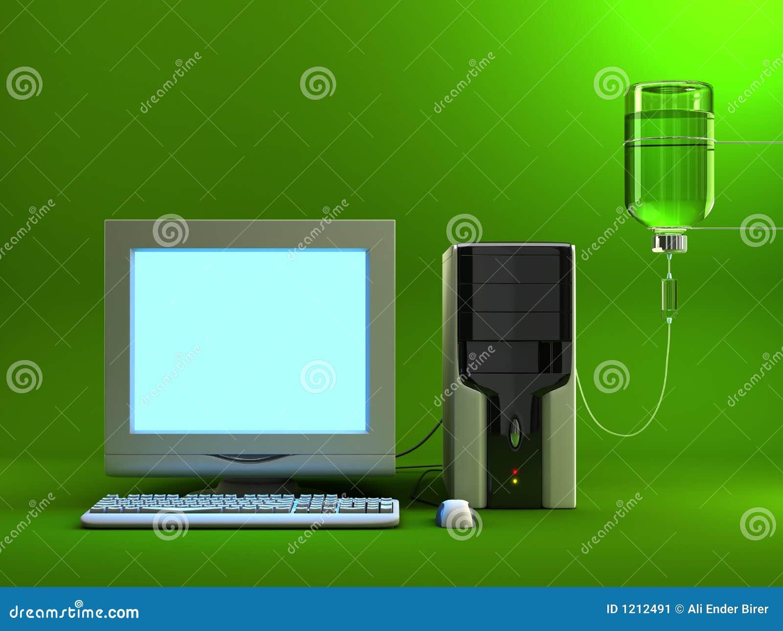 Besmette computer