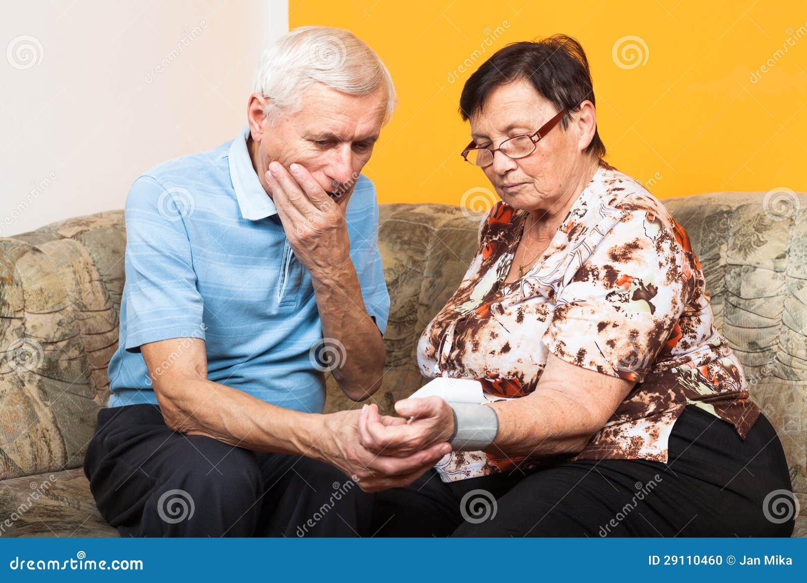 Blutdruck Senioren